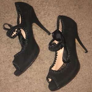 Betsy Johnson Leather Heels